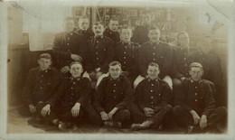 RPPC  THE CREW  Photo Postcards Military Navy - Otros