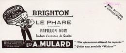 Buvard BRIGHTON LE PHARE PAPILLON NOIR Produits D'entretien Et De Qualité  SUPERBE - Shoes