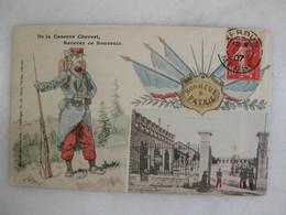 MILITARIA - VERDUN - De La Caserne Chevert, Recevez Ce Souvenir - Barracks
