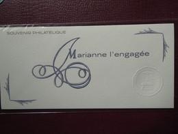 FRANCE 2018 - BLOC SOUVENIR N°145 à 145C Marianne L'engagée SOUS BLISTER - Foglietti Commemorativi