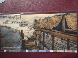 """BLOC SOUVENIR 2016 PHILATELIQUE N° 128 """"BATAILLE DE LA SOMME"""" Neuf Luxe Sous Blister. - Foglietti Commemorativi"""