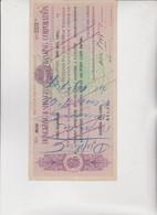 CAMBIALE - LETTERA DI CAMBIO : HONGKONG & SHANGHAI  BANKING CORPORATION.  SINGAPORE 1940 - Bills Of Exchange