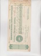 CAMBIALE - LETTERA DI CAMBIO : HONGKONG & SHANGHAI  BANKING CORPORATION. MANILA  1879 - Bills Of Exchange