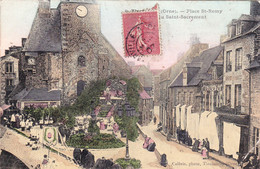 Tinchebray, Place St Remy, Fête Du Saint Sacrement - Altri Comuni