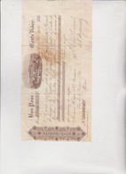CAMBIALE - LETTERA DI CAMBIO : BANCO  COMMERCIAL  -  MONTE VIDEO - URUGUAY . 1904 - Bills Of Exchange