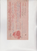 CAMBIALE - LETTERA DI CAMBIO : THE STANDARD BANK OF SOUTH AFRICA LIMITED. JOHANNESBURG  1927 - Bills Of Exchange
