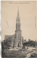 56 ARRADON  Eglise - Procession De La Fête Dieu - Arradon