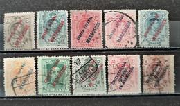 ESPAGNE - MAROC ESPAGNOL 1909/1930 - 10 Valeurs O / * - (voir Détail Et Scan) - Marocco Spagnolo