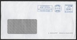 FRANKIT - Luftpost / Brief Zum Kilotarif / Prioritaire - Machine Stamps (ATM)