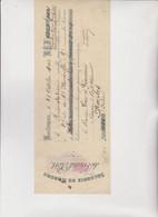 CAMBIALE :  SECHERIE  DE  MORUES  DU  GRAND  PORT.   BORDEAUX 1902 - Letras De Cambio