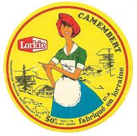 ETIQU.CAMEMB. LORKIE  57-A MOSELLE - Cheese