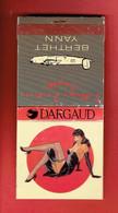 POCHETTE D ALLUMETTES PUBLICITAIRE 1995 POUR LA SERIE PIN UP DE BERTHET YANN BANDE DESSINEE DARGAUD - Advertisement