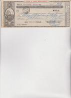 ASSEGNO :  BANCO DI CHIAVARI E DELLA RIVIERA LIGURE -  RIVA  TRIGOSO  1960 - Cheques & Traveler's Cheques