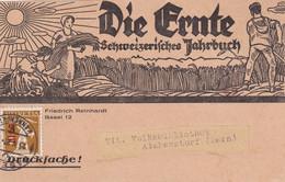 SUISSE 1921 CARTE DE BASEL - Covers & Documents
