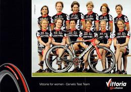 CYCLISME: CYCLISTE : GROUPE CERVELO FEMININES - Wielrennen