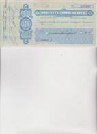 ASSEGNO   : BANCA  ITALIANA DI SCONTO  .  TORINO  1916 - Cheques & Traveler's Cheques