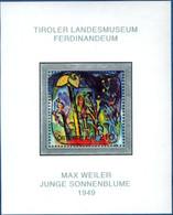 Austria 2004 Max Weiler - Hausenbogen Block Issue MNH 2104.0639 - Modern