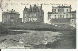 Flandre Occidental De Panne Villas Habitèes Par Le Roi Et La Famille Royale Pendant La Guerre - De Panne
