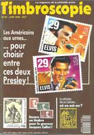 TIMBROSCOPIE - ELVIS PRESLEY, L ESCRIME, L ALPINISME, URSS ANNEE 1991, RAID BRUXELLES LEOPOLDVILLE, NOUVELLE CALEDONIE - Francesi (dal 1941))