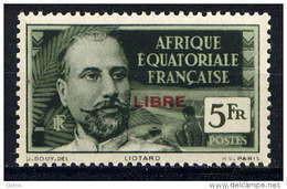 AEF -136** - LIOTARD / LIBRE - Unused Stamps
