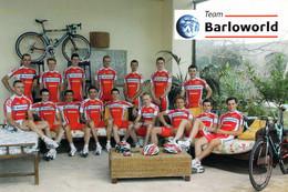 CYCLISME: CYCLISTE : GROUPE BARLOWORLD - Wielrennen