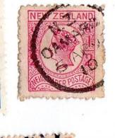 New Zealand 1873 Queen Victoria, NEWSPAPER 2 1/2, Used (o) - Gebraucht