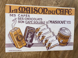 1 BUVARD LA MAISON DU CAFE - Coffee & Tea