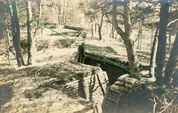 14-18.WWI - Carte Photo  Allemande  - Frontfoto Battlefiels Trench Tranchee - Guerra 1914-18