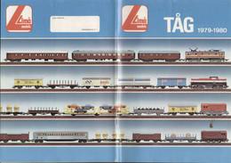 Catalogue LIMA MODELS TÅG 1979-80 HO 1/87 Schwedisch Ausgabe + Preis SEK - En Suédois - Andere