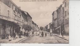 69 VILLEFRANCHE SUR SAONE  -  Rue Nationale  -  Porte De Belleville  - - Villefranche-sur-Saone