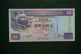 (M) 1997 HONG KONG OLD ISSUE HSBC 50 DOLLARS**series AA (UNC) - Hong Kong