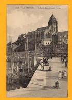 Le Tréport  église St Jacques    Quai Avec     Animation           Edt  Ll  N°  122 - Le Treport