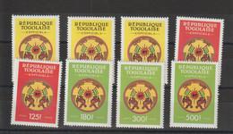 Togo 1997 Service 1-8 8 Val ** MNH - Togo (1960-...)