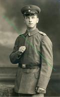 14-18.WWI - Carte Photo  Allemande  - Frontfoto Portrait - Guerra 1914-18
