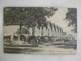 MILITARIA - VOUZIERS - Quartier Savary - Le Pansage (très Animée) - Barracks