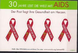 2011 UNO Wien Mi. 729 **MNH 30 Jahre Aidsbekämpfung - Nuevos