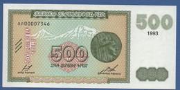 ARMENIA - P.38b – 500 Dram1993 - UNC - Armenia