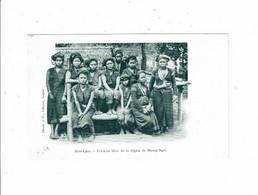 Cpa Haut LAOS Femmes KHAS Région De Muong Ngoï Laotiennes à La Pose Indo-Chine Indochine Claude Et Co éditeurs Saïgon - Laos