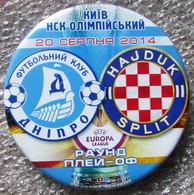 Pin Europa League 2014-2015 Dnipro Dnipropetrovsk Vs Hajduk Split 2 - Calcio