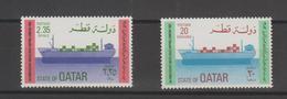Qatar 1982 Bateaux 474-75 2 Val ** MNH - Qatar