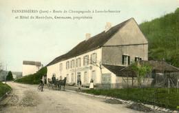 39 - Pannessières - Route De Champagnole à Lons Le Saunier - Hotel Du Mont Jura - Chevillard Propriétaire - Otros Municipios
