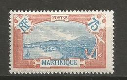 Timbre Colonie Française Martinique Neuf *  N 123 - Nuovi