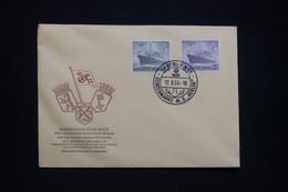 ALLEMAGNE / BERLIN - Enveloppe FDC En 1955 - Bateau - M.S. Berlin - L 94041 - FDC: Sobres