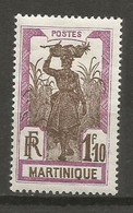 Timbre Colonie Française Martinique Neuf *  N 126 - Nuovi