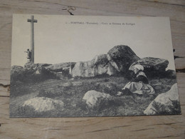 PORTSALL : Croix Et Dolmen De Guiligui  ............. 201101d-3689 - Otros Municipios