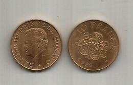 MONACO. Année 1976 - Rainier III. - 1960-2001 New Francs