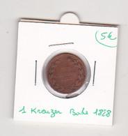 1 Kreuzer Bade 1828 - Altri