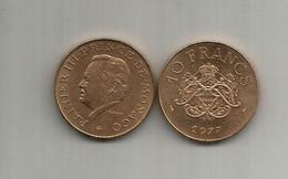 MONACO. Année 1977 - Rainier III. - 1960-2001 New Francs