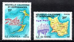 Nle CALEDONIE - YT N° 426-427 - Neuf ** - MNH - Unused Stamps