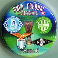 Pin Europa League 2015-2016 Group G Dnipro Dnipropetrovsk Saint-Etienne Loire Rosenborg Lazio 1 - Calcio